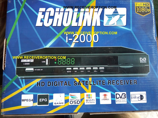 ECHOLINK I-2000 HD RECEIVER CCCAM OPTION