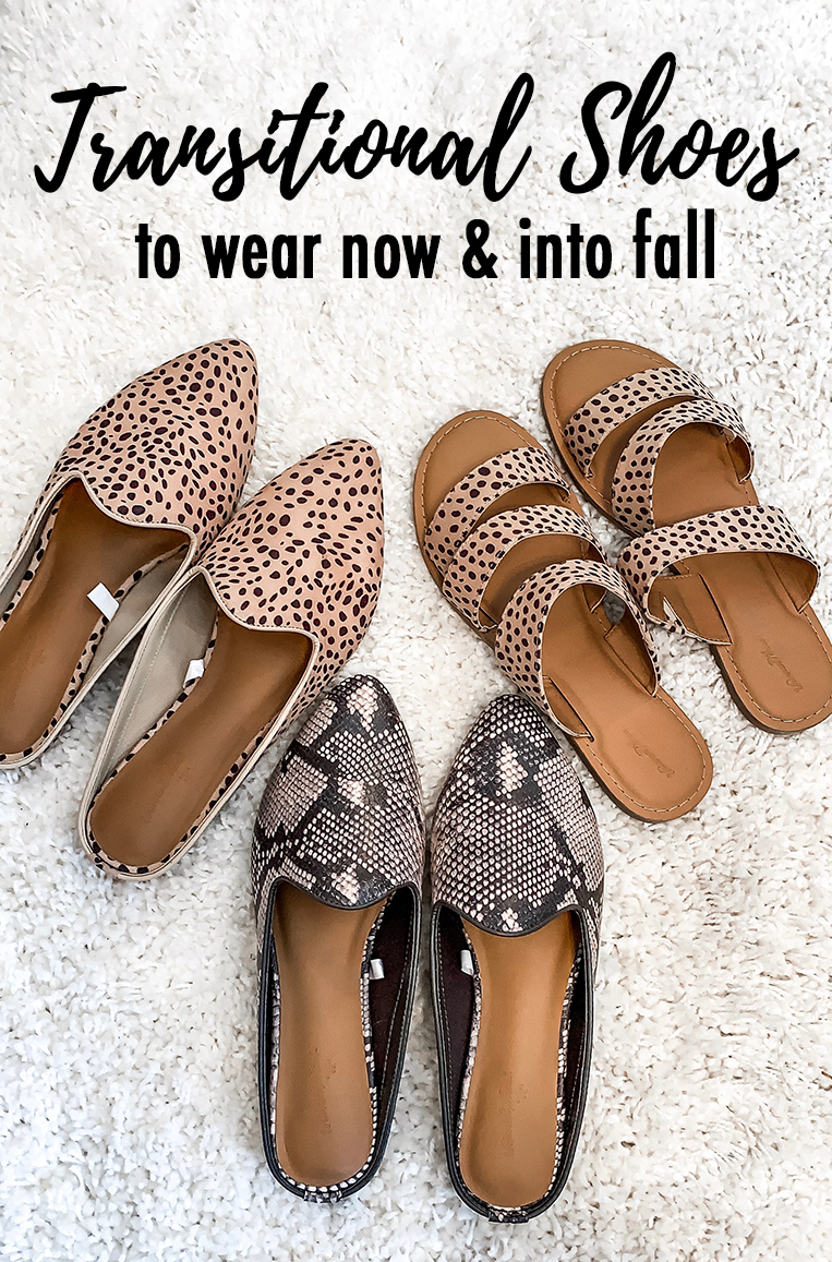 Transitional Shoes To Wear Now and Into Fall - Chasing Cinderella