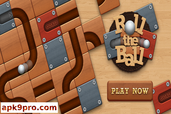 Roll the Ball – slide puzzle v7.0.1 Apk + Mod (File size 45 MB) for android