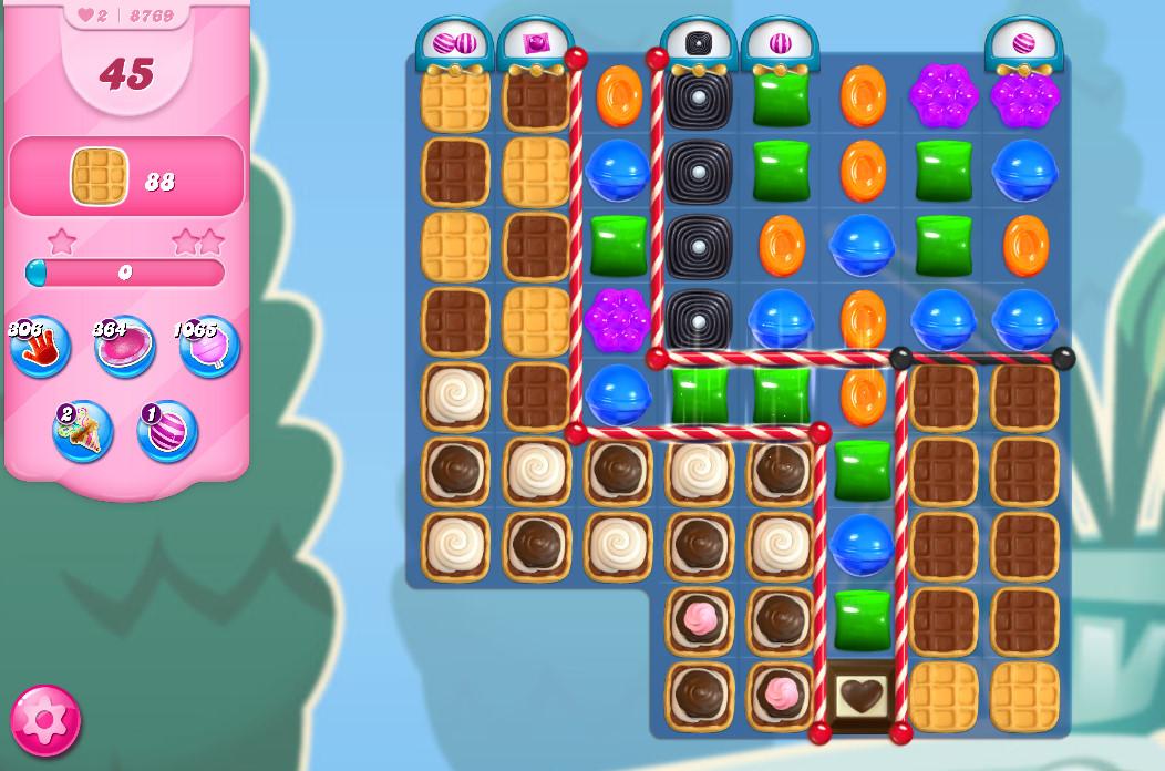 Candy Crush Saga level 8769