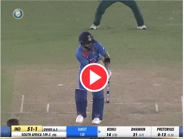 India vs South Africa 2nd T20I Highlights: Virat Kohli scored a brilliant half century .
