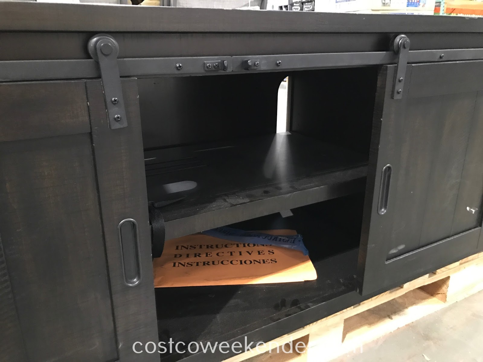 Bayside Furnishings 72in Tv Console Costco Weekender