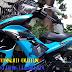 Sơn tem đấu Airbursh Exciter 150 màu xanh ngọc đen [Exciter150_SG2023]