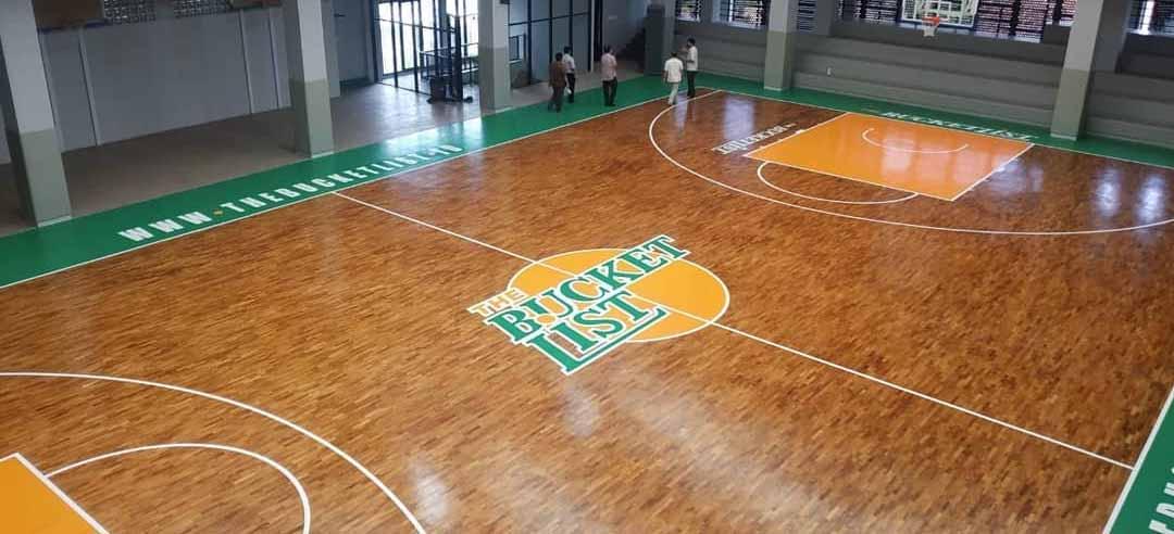 Parquet Jati Gor Basket