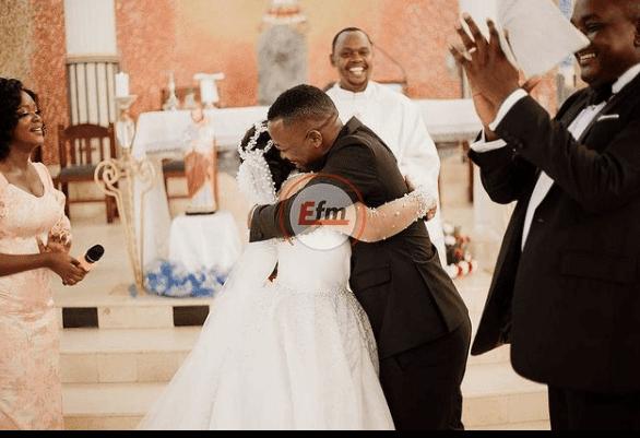 Bongo Star Lulu and DJ Majizzo wedding photos
