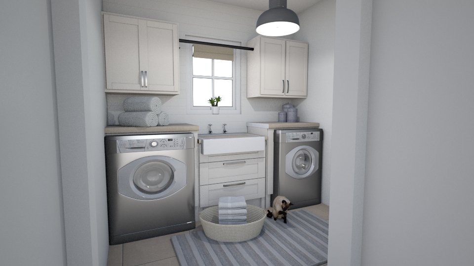 Carriage Hill Project Reveal - laundry room