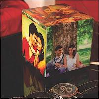 Personalized Birthday Gift Cubelit Mini Photo Lamp
