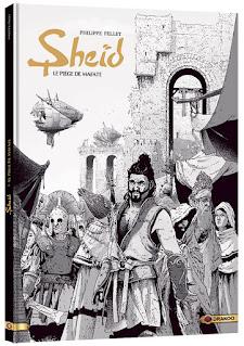 Sheïd tome 1 - version de luxe en noir et blanc