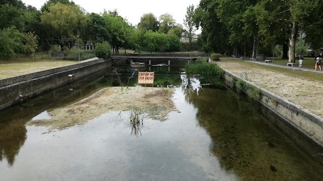 Areal fluvial a precisar de Obras