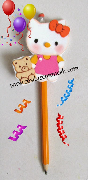 Hello-kitty-lapices-decorados