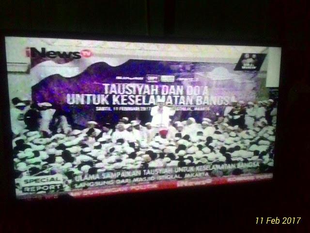 """Aksi Damai 112 di Istiqlal Diwarnai Ajakan """"Membunuh PKI"""""""
