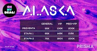 Boletas Oh my Drag! con ALASKA en Bogotá