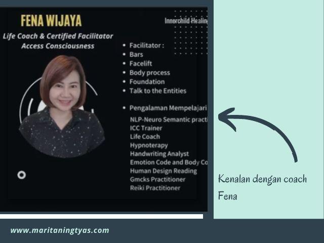 profil coach fena wijaya