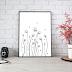 Léa Flowers Garden Doodle Art