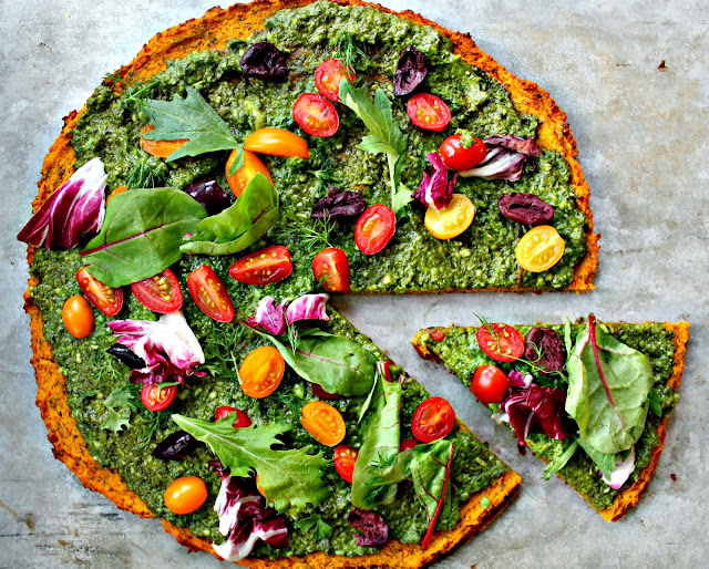 Incredible Squash Pizza 1