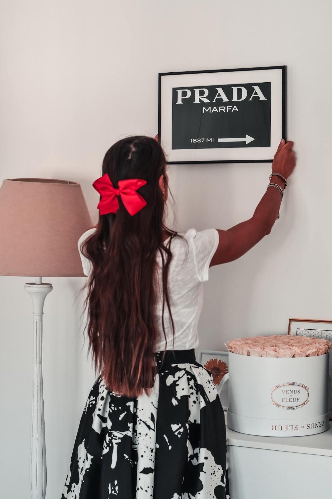 arredare la camera da letto con i poster