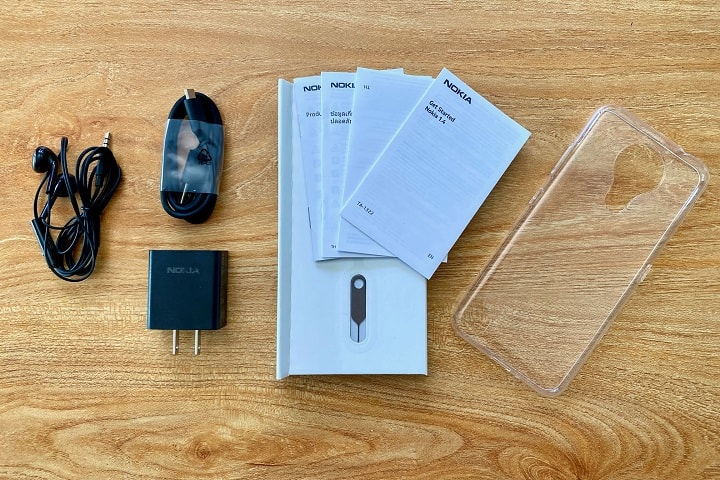 Nokia 1.4 Review: What's Inside the Box of the Nokia 1.4