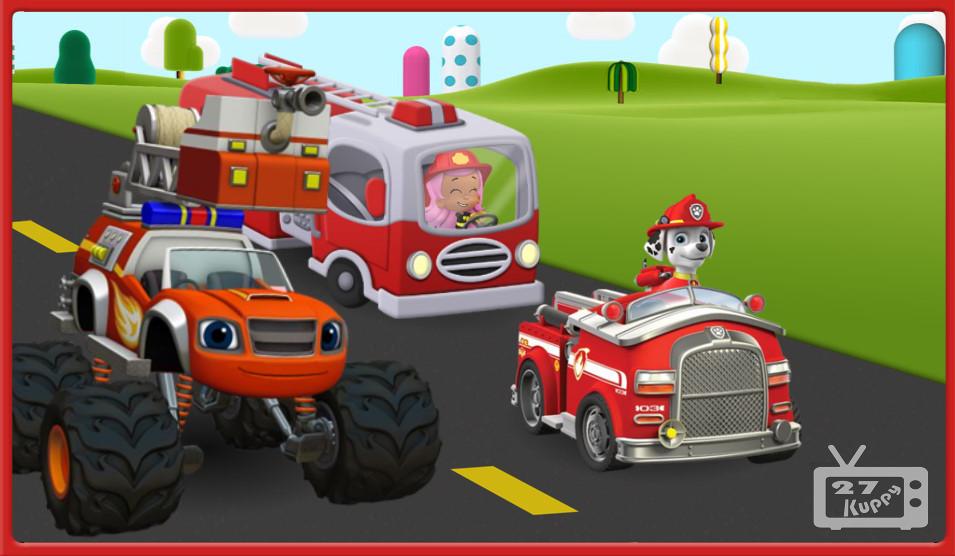 Cartoni animati per bambini paw patrol italiano camion