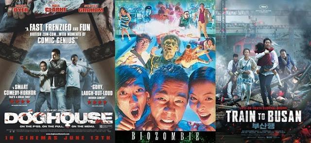 film zombie korea jepang terseram