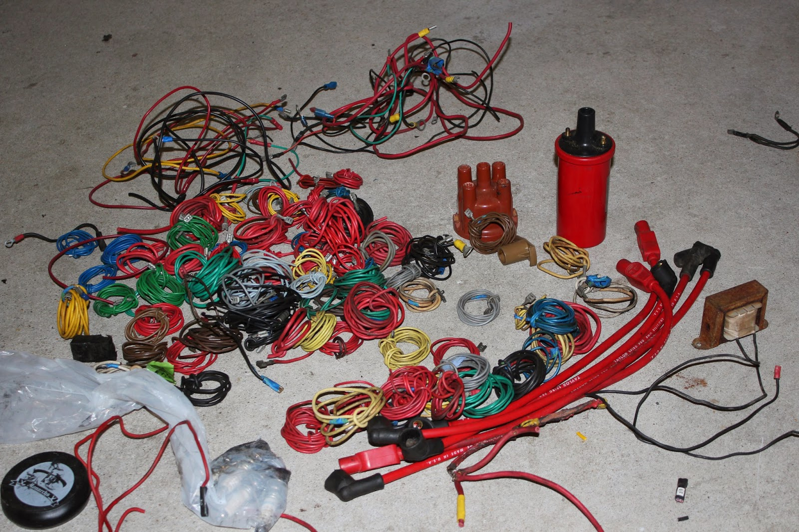 medium resolution of what with the whole wiring harness ripped out of the car it was time to put all new wires in that s been the current undertaking for the past month or so