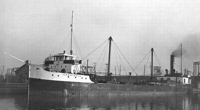 Canadian freighter Sarniadoc, sunk on 15 March 1942 worldwartwo.filminspector.com