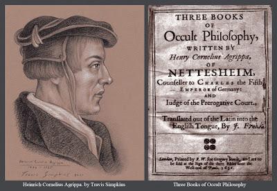 Heinrich Cornelius Agrippa von Nettesheim. Three Books of Occult Philosophy. by Travis Simpkins