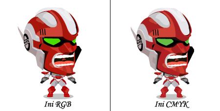 Perbezaan CMYK dan RGB