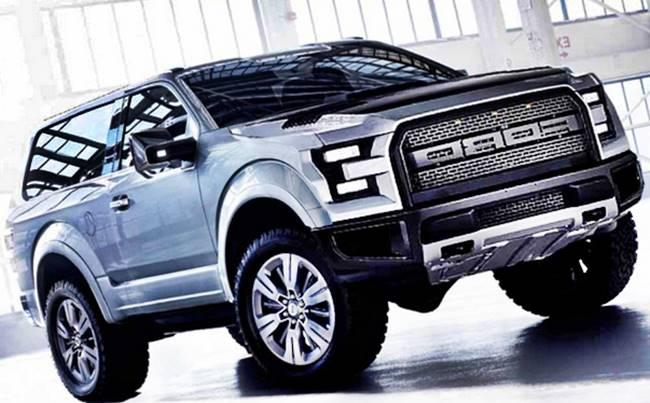 2017 Ford Bronco Svt Raptor Concept