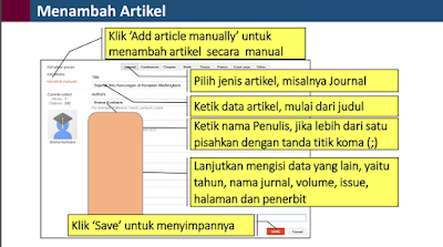 Cara Menambah Artikel Jurnal Makalah Di Google Scholar