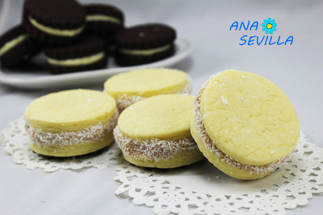 Alfajores de dulce de leche argentinos con Thermomix Ana Sevilla