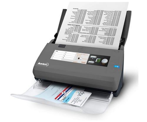 Ambir ImageScan Pro 830ix 30ppm High-Speed ADF Scanner