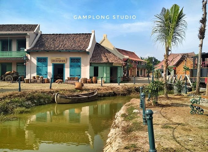 STUDI ALAM GAMPLONG - Destinasi wisata berjuluk Mini Hollywood Indonesia, Yuk simak artikel menarik ini !!
