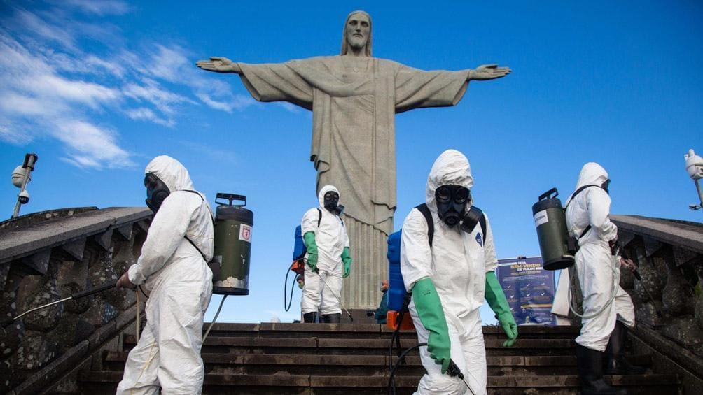 Brasil superó la barrera de los 150.000 muertos por coronavirus