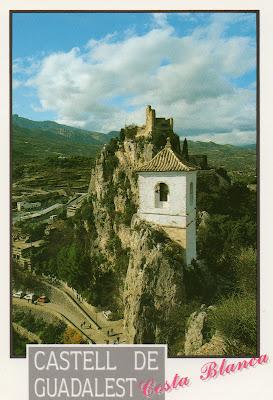 postal, Guadalest
