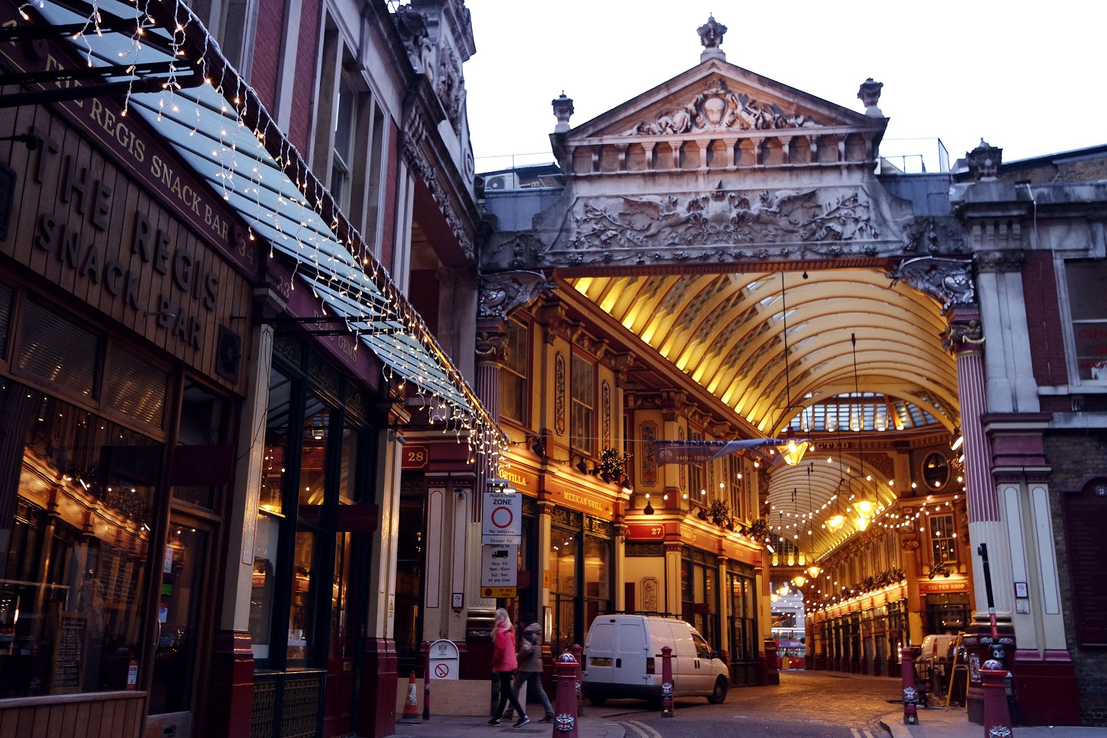 Leadenhall Market, London, blog, Londres, South Bank, City of London, London street,