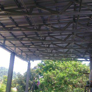 atap baja ringan karawang harga permeter pasang rangka dan barat