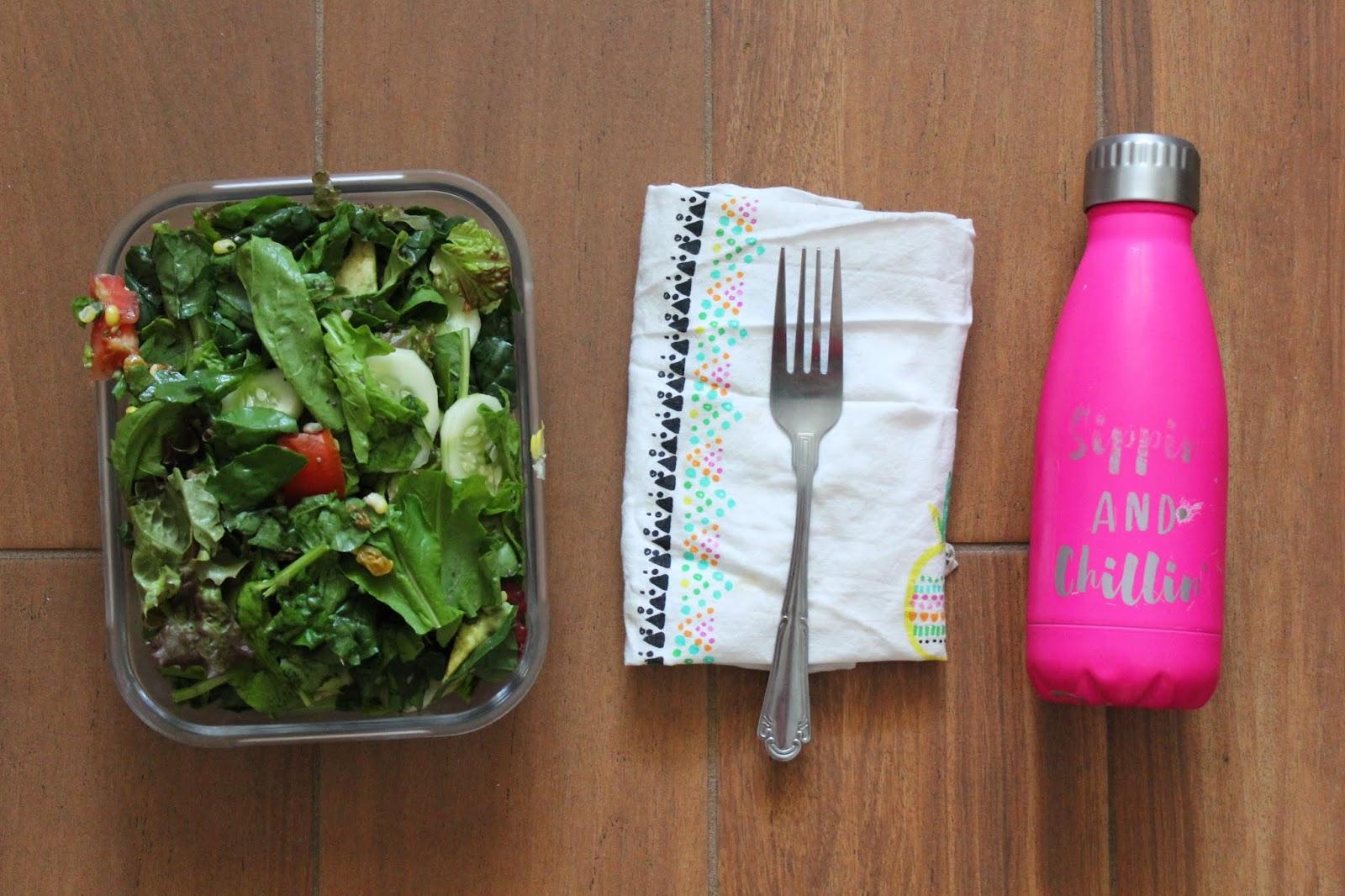 Zero Waste Lunch Essentials Zero Waste Salad Recipe