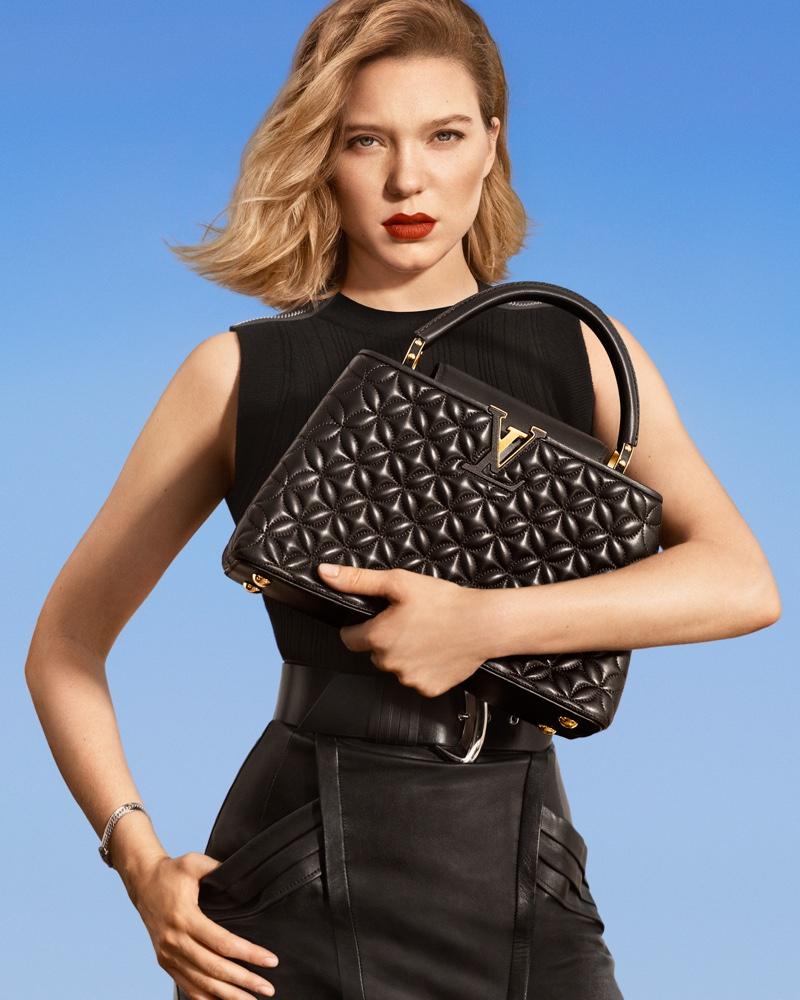 Lea Seydoux fronts Louis Vuitton New Classics 2019 campaign