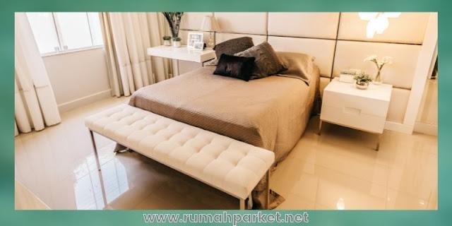 material lantai untuk kamar tidur - marmer