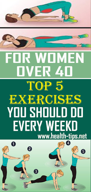 Top 5 Exercises Every Women Over 40 Should Do Every Week#NATURALREMEDIES