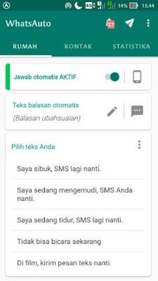 Cara Membuat Info Pengumuman Kelulusan Online Dengan WhatsApp Auto Reply