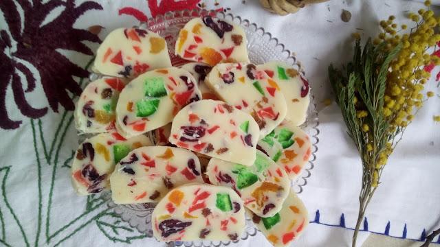 Toblerone sa kandiranim voćem