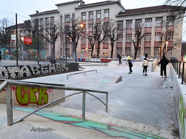 skatepark centre ville grenoble