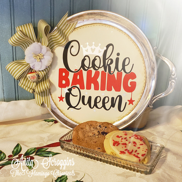 Queen Cookie Baker Tray