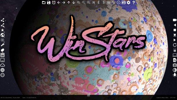 winstars android ios windows linux space explore planitarium 3d
