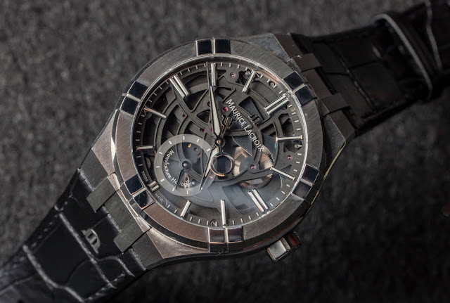 """Maurice Lacroix Aikon Mercury Watch With """"Free Hand"""" System Hands-On"""