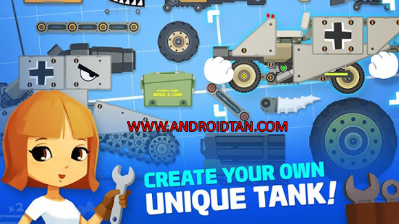 Free Download Super Tank Rumble Apk v1.6.9 Android Terbaru 2017