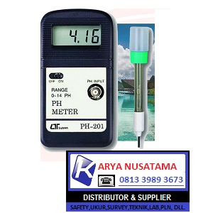Jual PH 201 + Electrode PE 03 PH Meter di Jombang