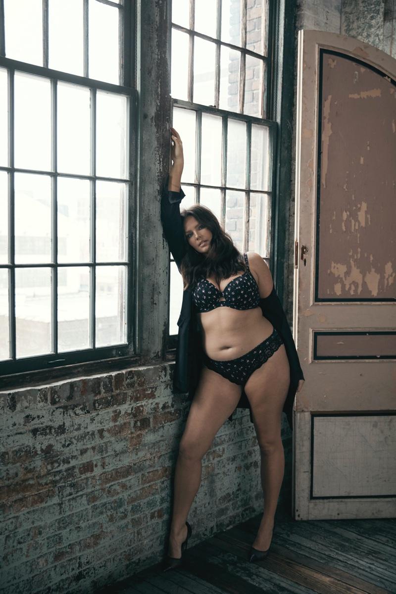 Candice Huffine fronts Body by Victoria Victoria's Secret campaign
