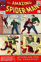 Amazing Spider-Man #4 Cover. 1st appearance of Sandman